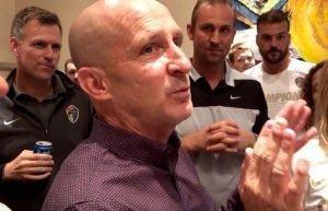 Coach Paul Riley Post-Championship Speech