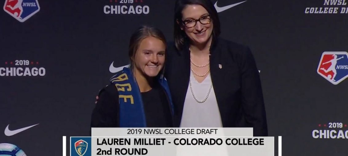 Lauren Milliet 2019 NWSL College Draft