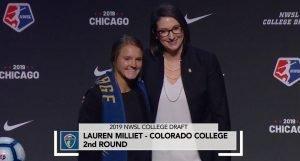 Lauren Milliet 2019 NWSL College Draft