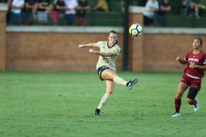 Ally Haran, Wake Forest Image courtesy of https://twitter.com/WakeWSoccer