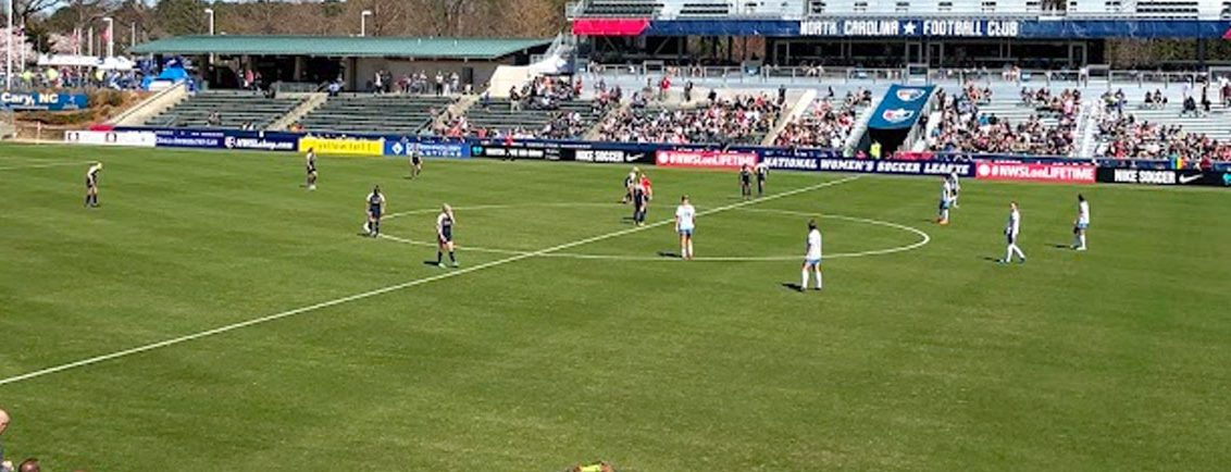 NC Courage Pitch 2018