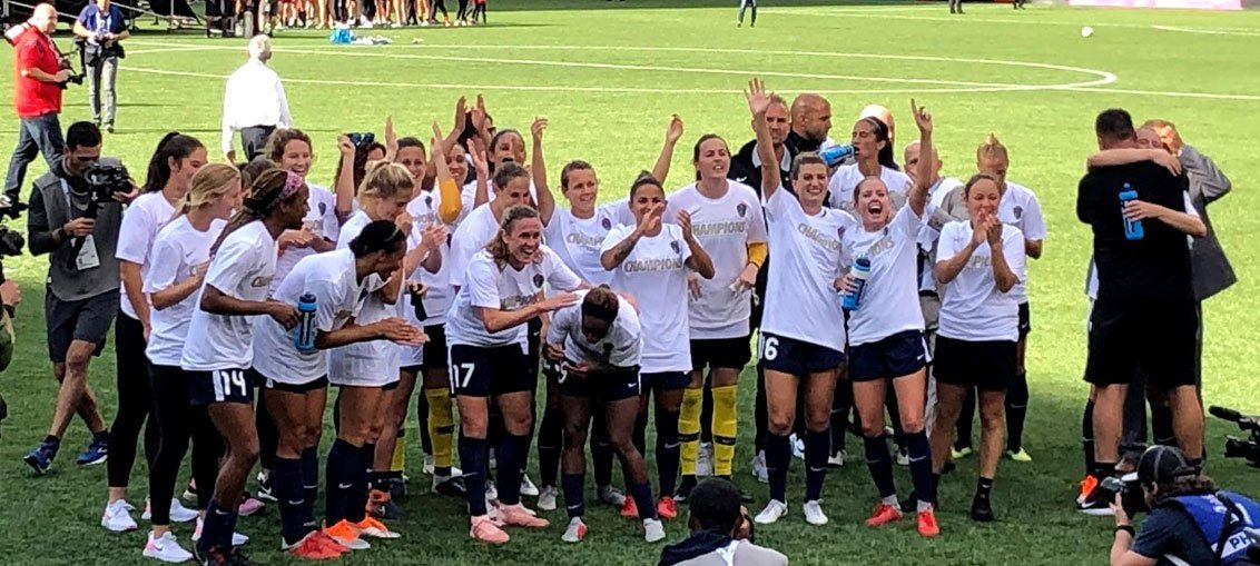 NWSL Champions 2018
