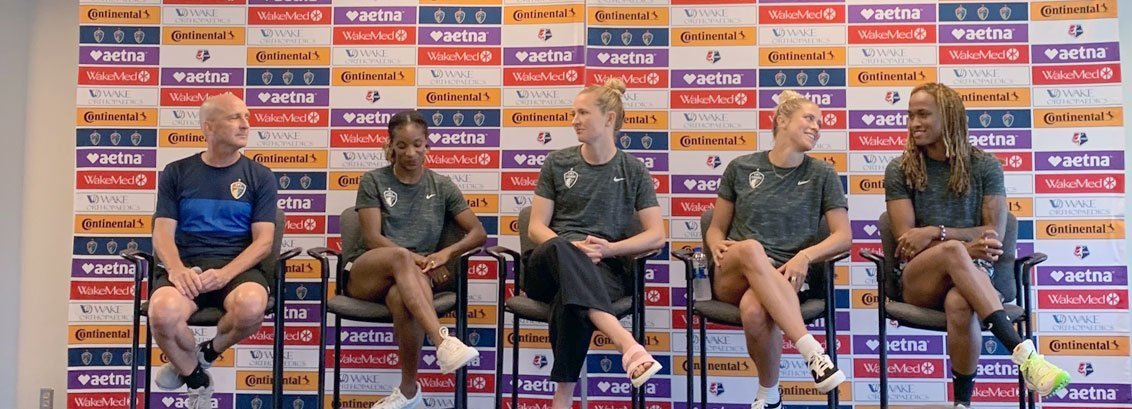 USWNT NC Courage Press Conference, July 17, 2019