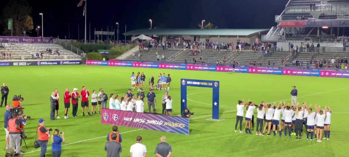 2019 NWSL Shield Ceremony