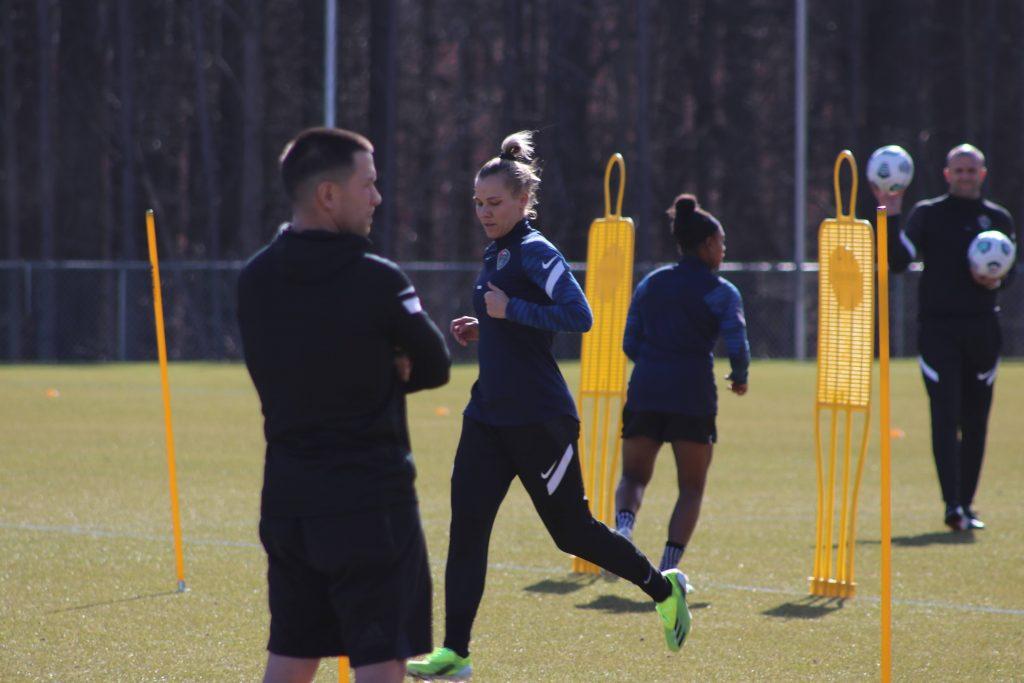 Merritt Mathias 2021 practice